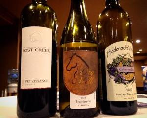 Loudoun wines wooed Wine Tourism Conference attendees. Courtesy/Loudoun Times-Mirror